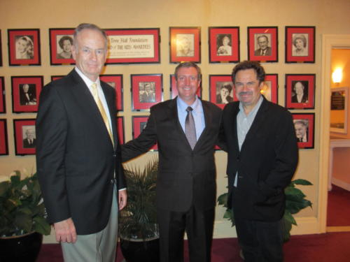 Comedian Dennis Miller  Bill O'Reilly with Dr. Cohen