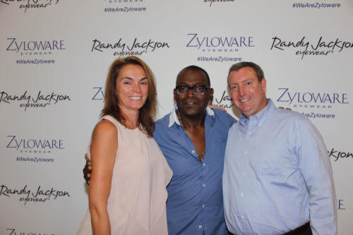 Randy Jackson with Dr. Cohen and Dr. Nicholson