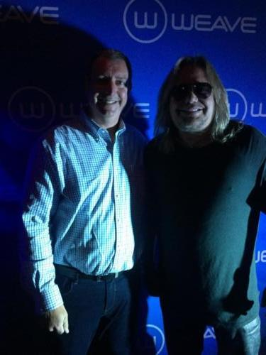 Vince Neil of Motley Crue with Dr. Cohen