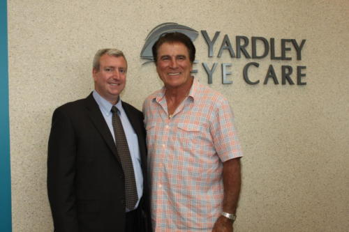 Vince Papale, subject of the Movie Invincible with Dr. Cohen
